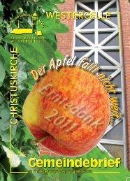 Ausgabe 2011 - Kirchengemeinde Westercelle