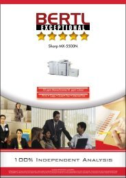 MX-5500N Award Report GB - Sharp