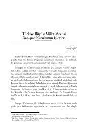 Türkiye Büyük Millet Meclisi Danışma Kurulunun İşlevleri