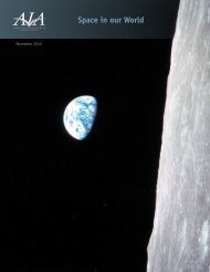 Space in our World - Aerospace Industries Association