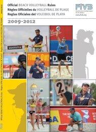 Reglas Oficiales del VOLEIBOL DE PLAYA - FIVB
