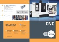 High Precision CNC Machining Center - Idra Group