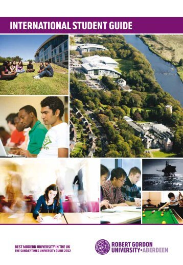 International Student Guide 2012 - Study in the UK