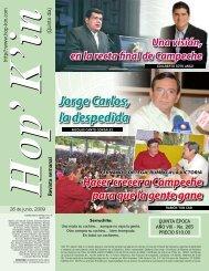 Jorge Carlos, la despedida