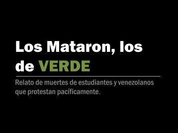 LOS MATARON LOS DE VERDE