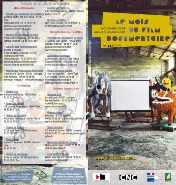limoges - Le Mois du Film Documentaire