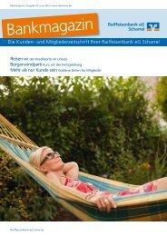 Ausgabe 03/Juni 2013 - Raiffeisenbank eG Scharrel