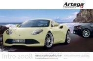 Intro 2008 Genf 2009 - Artega GT Forum