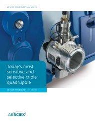 Brochure: AB SCIEX Triple Quad 5500 System