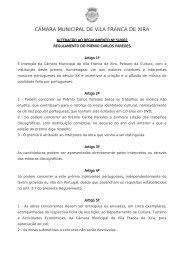 CÂMARA MUNICIPAL DE VILA FRANCA DE XIRA - SPA