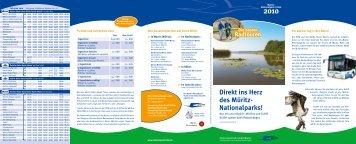 Direkt ins Herz des Müritz- Nationalparks! - Müritz Nationalpark-Ticket