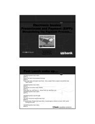 Electronic Invoice Presentment and Payment (EIPP ... - NASACT