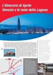 L'itinerario di Aprile Venezia e le isole della ... - Avis autonoleggio