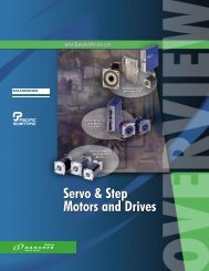 Servo & Step Motors and Drives Servo & Step Motors ... - Kollmorgen