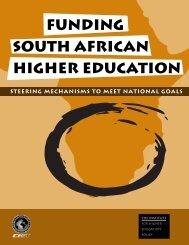 funding south african higher education steering mechanisms to meet ...