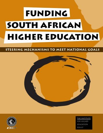 funding south african higher education steering mechanisms to meet ...