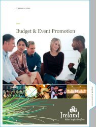 Budget & Event Promotion - Meet In Ireland