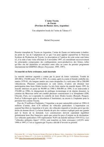 Toyota Zarate.pdf - Michel Freyssenet