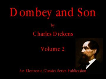 Dombey and Son volume two - Penn State University
