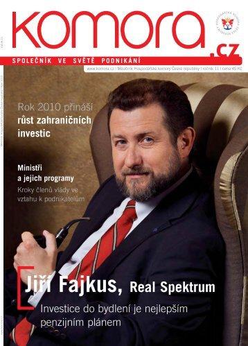 Jiāí Fajkus, Real Spektrum - Hospodářská komora České republiky