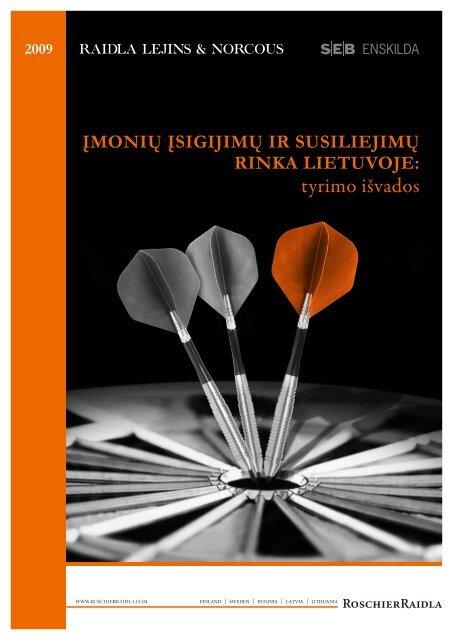 tyrimo išvados - NORCOUS Academia - Raidla Lejins & Norcous