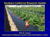 Larson-Southern California Research Update