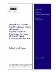 Menyediakan Layanan Efektif bagi Kaum Miskin di Indonesia ...