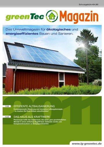 greentec Magazin 2011