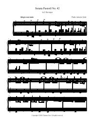 Sheet Music - Chateau Gris Home Page