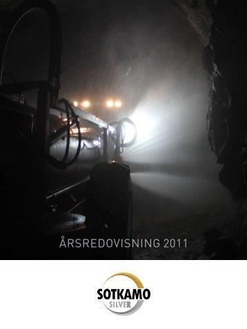 Årsredovisning för Sotkamo Silver AB (publ) 2011