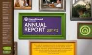 HomeGround Annual Report 2011/12 - HomeGround Services