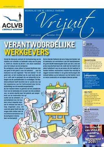 Vrijuit - editie december 2010 - Aclvb