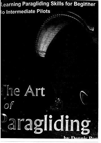 The Atr of Paragliding