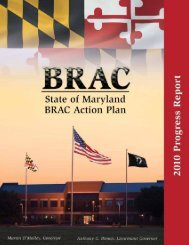 BRAC Subcabinet Action Plan 2010 Progress Report