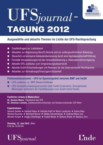 TAGUNG 2012 - SWK