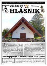 Súčanský hlásnik 2009 číslo 2 (pdf) - Horná Súča