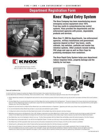 MedVault Pre-Order Worksheet - Knox Box