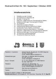 10. Oktober 2009 - SAC Sektion Zindelspitz