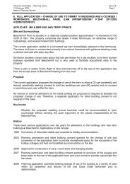 6. full application – change of use to permit