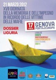 Dossier Liguria - Sos Impresa