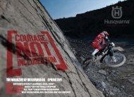 the magazine of husqvarna uK // sPring 2011