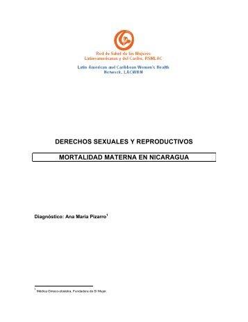 derechos sexuales y reproductivos mortalidad materna en ... - Sidoc