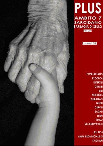 PLUS Sarcidano - Barbagia di Seulo aggiornamento 2008 - Sociale ...
