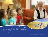 Live Life to the Fullest - Schowalter Villa