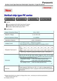 Vertical chip type FK series - Rockby
