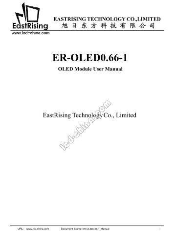 ER-OLED0 .66-1 - Display Future