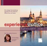 experience@office 2011_Mailing.indd - OFFICE SEMINARE