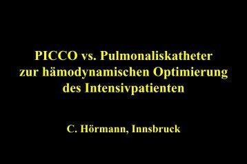 Univ. Prof. Dr. Christoph Hörmann, Innsbruck - Vinzenz Gruppe