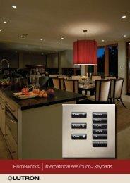 HomeWorks® |international seeTouchTM keypads - Audio Images
