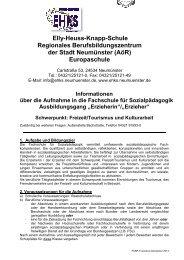 FSSP - T ourismus . dot - Elly-Heuss-Knapp-Schule